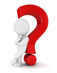 big question mark