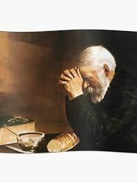 praying bread